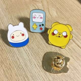 Adventure Time Enamel Pin Brooch Cartoon Network