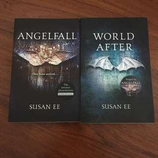 Angelfall and World After by Susan Ee