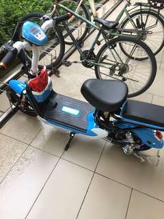 Ebike (Used for 1 month and less)