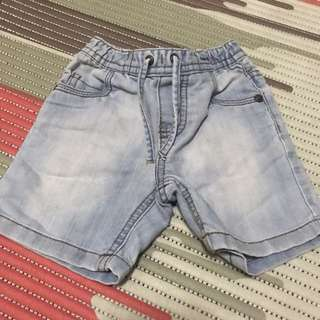 Baby Boy short denim 3-6 months