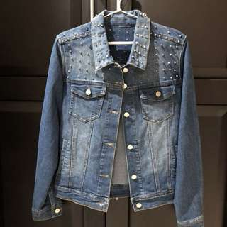 Studed denim jacket size S-L