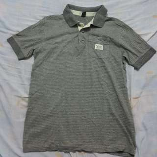 Zara Kids Boys Grey Collared Shirt Polo