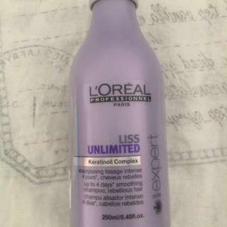 L'Oreal Professional Liss Unlimited Smoothing Shampoo