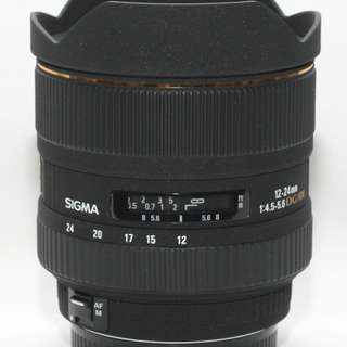 Sigma 12-24mm EX DG HSM lens (for canon) Crop sensor