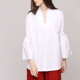 Schoncouture white bow top