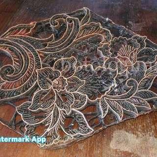 Old Brass Batik Stamp