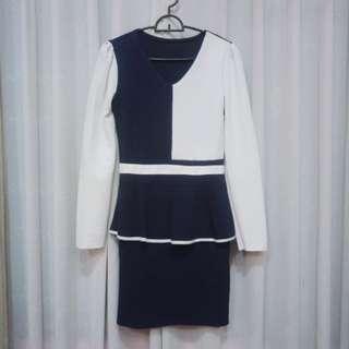 Peplum Mini Dress