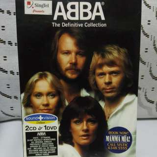 Cd English ABBA 2cd1dvd