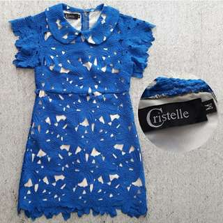 Dress crochet tebel