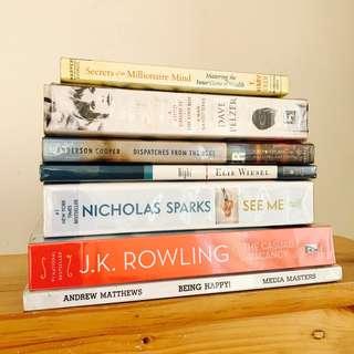 Bestsellers: José Saramago, JK Rowling, Elie Wiesel, Anderson Cooper & More!