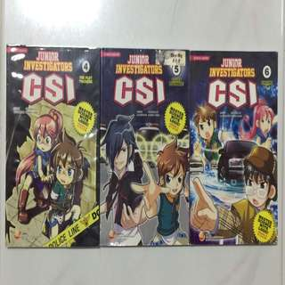 CSI Junior Investigators (bundle)