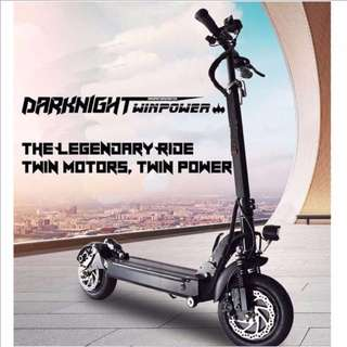 Electric scooter - Darknight Twinpower