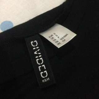 H&M Cropped T-Shirt ~ Jersey