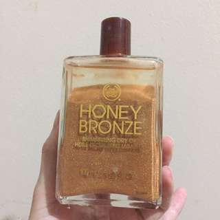 The Body Shop Shimmering Dry Oil Honey Bronze