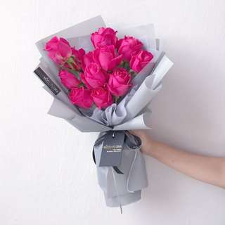 Valentine's Day Flower | Rose | Fresh Flower Bouquet | Birthday Gift