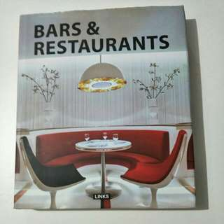 Bars and Restaurants furniture book $3