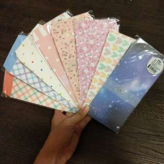 [BN] Cute Patterned Envelopes