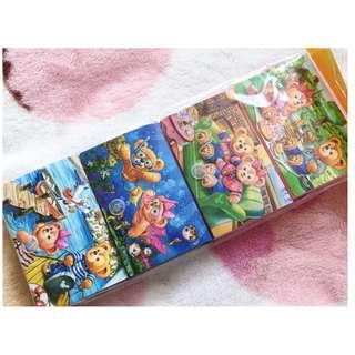 香港迪士尼 - 2016年夏季版卡片盒4個SET Summer verison card case (Duffy Shelliemay)