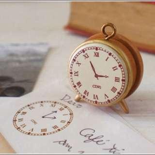 Clock stamp