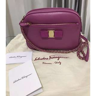 PROMO BRAND NEW AUTHENTIC SALVATORE FERRAGAMO LYDIA BAG ORIGINAL