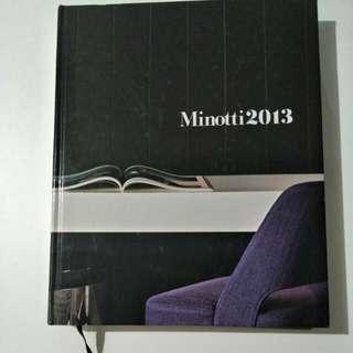 Minotti 2013 Furniture book