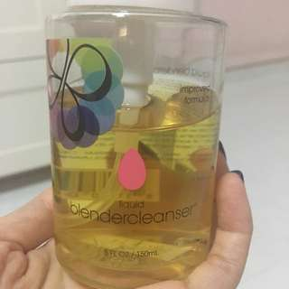Liquid Beauty Blender cleanser
