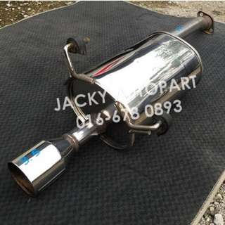 "Exhaust Muffler Modulo Sflow Honda RN3 2""Japan"