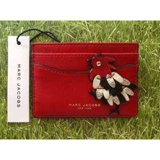 Rare Marc Jacobs Fire Rooster Card Holder