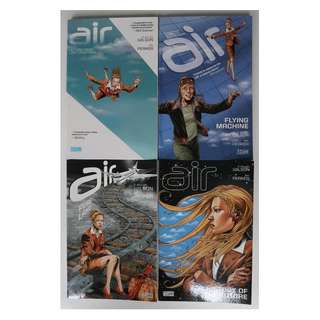 Air volumes 1 - 4 (graphic novel, completed series)
