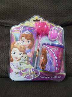 Sofia the First stationery gift set
