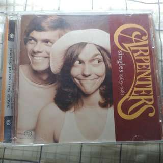 Carpenters sacd 1st print rare cd