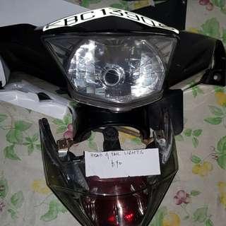 Spark 135 Headlight & tailight