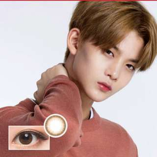 Korea Lensnine 1month contact lens (Pury Brown)
