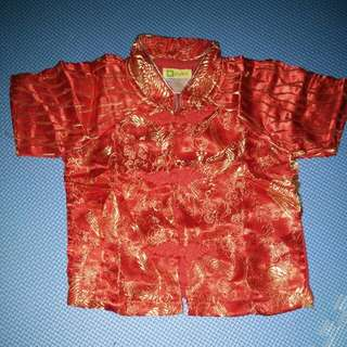 Top Chinese New Year size 3-6month