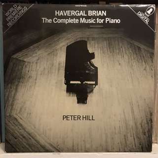 Havergal Brian The Complete Music for Piano Peter Hill