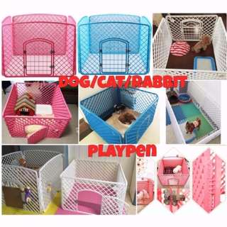 (INSTOCK) Dog Cat Rabbit Guinea Pig Pet Playpen Fence Cage BRAND NEW