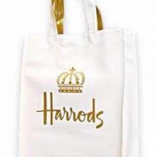 全新英國Harrods PVC防水袋