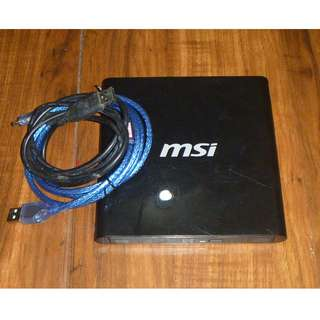 MSI External DVD Writer