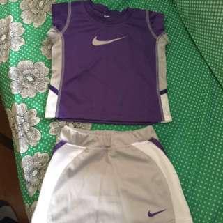 Nike Two piece Tennis Skirt