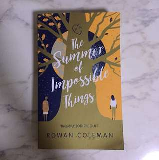 [BOOK TRADE] The Summer of Impossible Things by Rowan Coleman