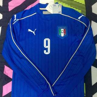 Puma Italy L/S Home Jersey 2016