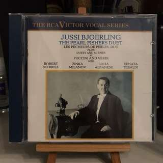 Jussi Bjoerling The Pearl Fishers Duet RCA GD87799