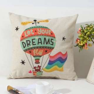 [Ready Stock] Dream and Travel Cushion Cover