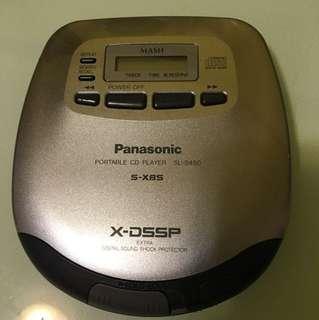 Panasonic Portable CD Player Discman SL-S450 Optical Out 光纖輸出