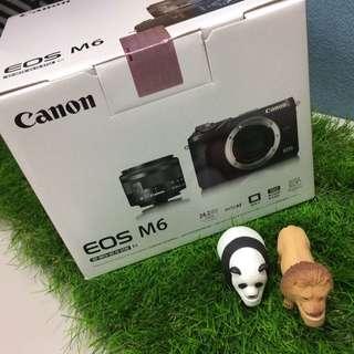 🚚 Canon EOS M6 微單眼 熱門款相機