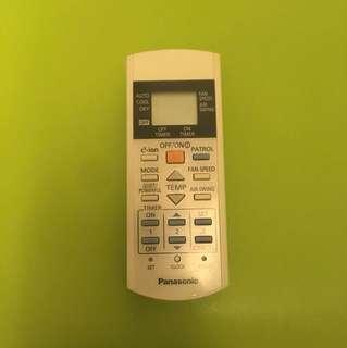 Panasonic 分體冷氣遙控器