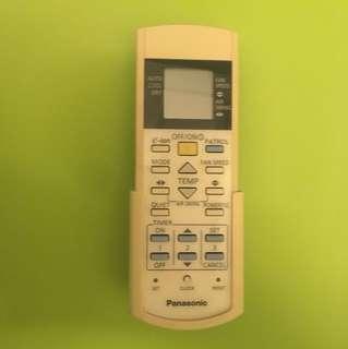 Panasonic 分體冷氣遙控器連掛牆架