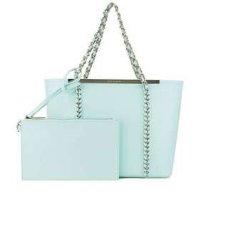 Ted Baker Chain Large Shopper 100%New with dust bag 全新連塵袋