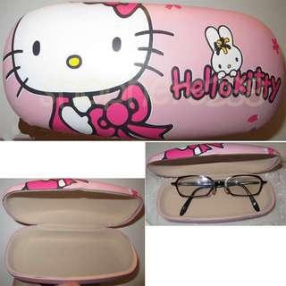 特價$30 Hello kitty 眼鏡盒 (全新)