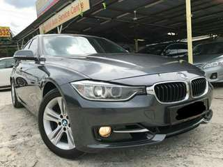 BMW 320i F30 twinturbo 2.0 (A) 2013